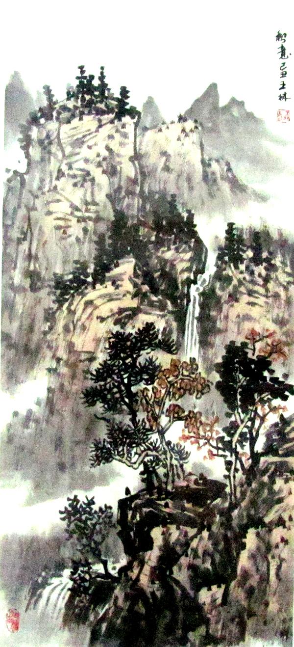 者:吴国亭 作者职务:著名国画家,中国美协会员,一级美术师,原浙江